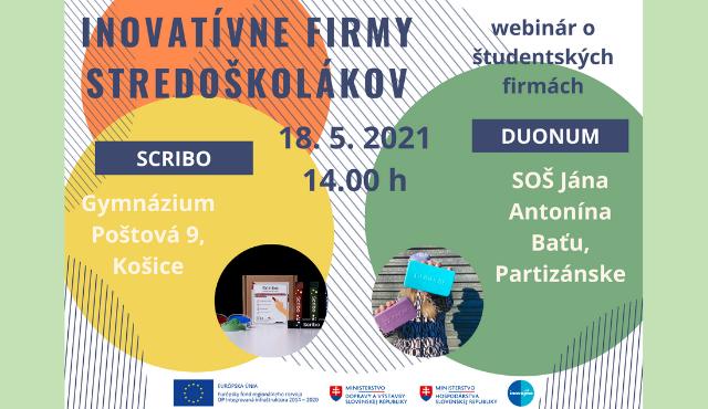 Inovatívne firmy stredoškolákov | Inovujme.sk
