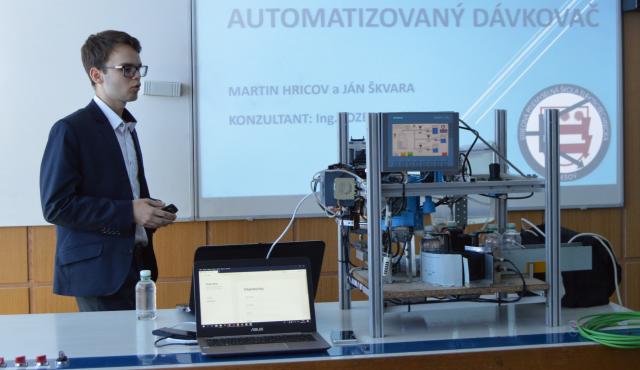Najinovatívnejším stredoškolským projektom je Inteligentná plniaca linka | Inovujme.sk