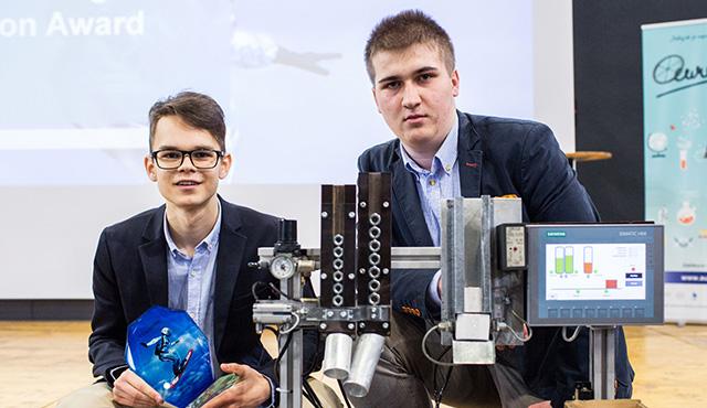 Stredoškoláci z Prešova zvíťazili s návrhom automatizovaného e-shopu   Inovujme.sk