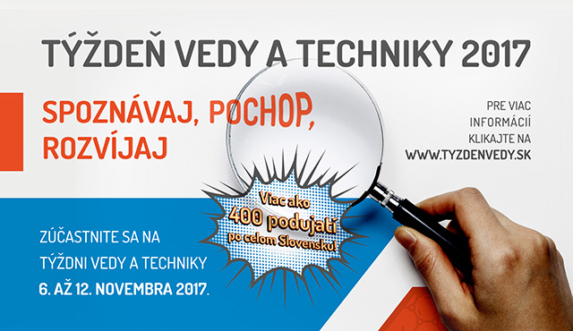 Týždeň vedy a techniky s inovujme.sk   Inovujme.sk