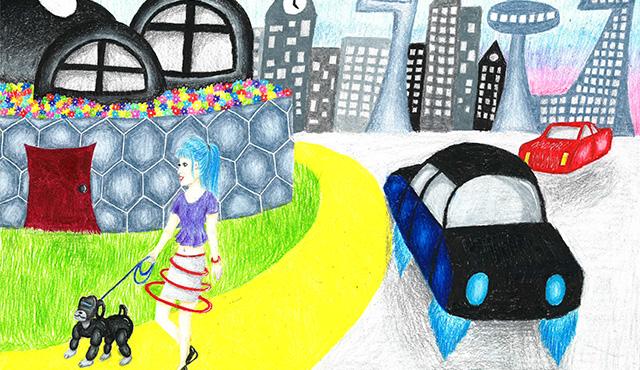 Ako si predstavujú náš svet deti? Vo výtvarnej súťaži bodovali mestá budúcnosti   Inovujme.sk