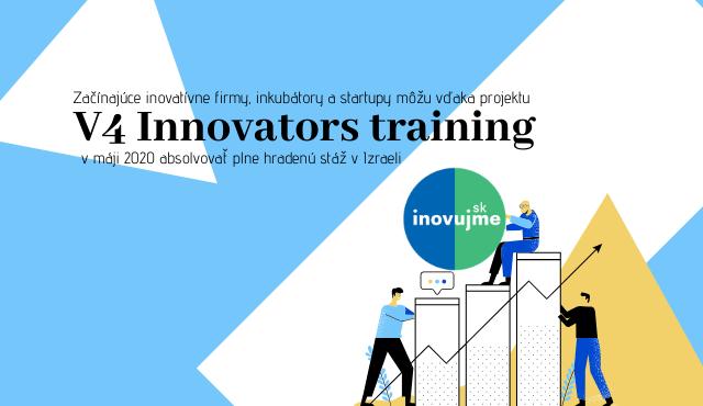 """Začínajúce inovatívne firmy a startupy môžu vďaka projektu """"V4 Innovators"""" absolvovať stáž v Izraeli   Inovujme.sk"""