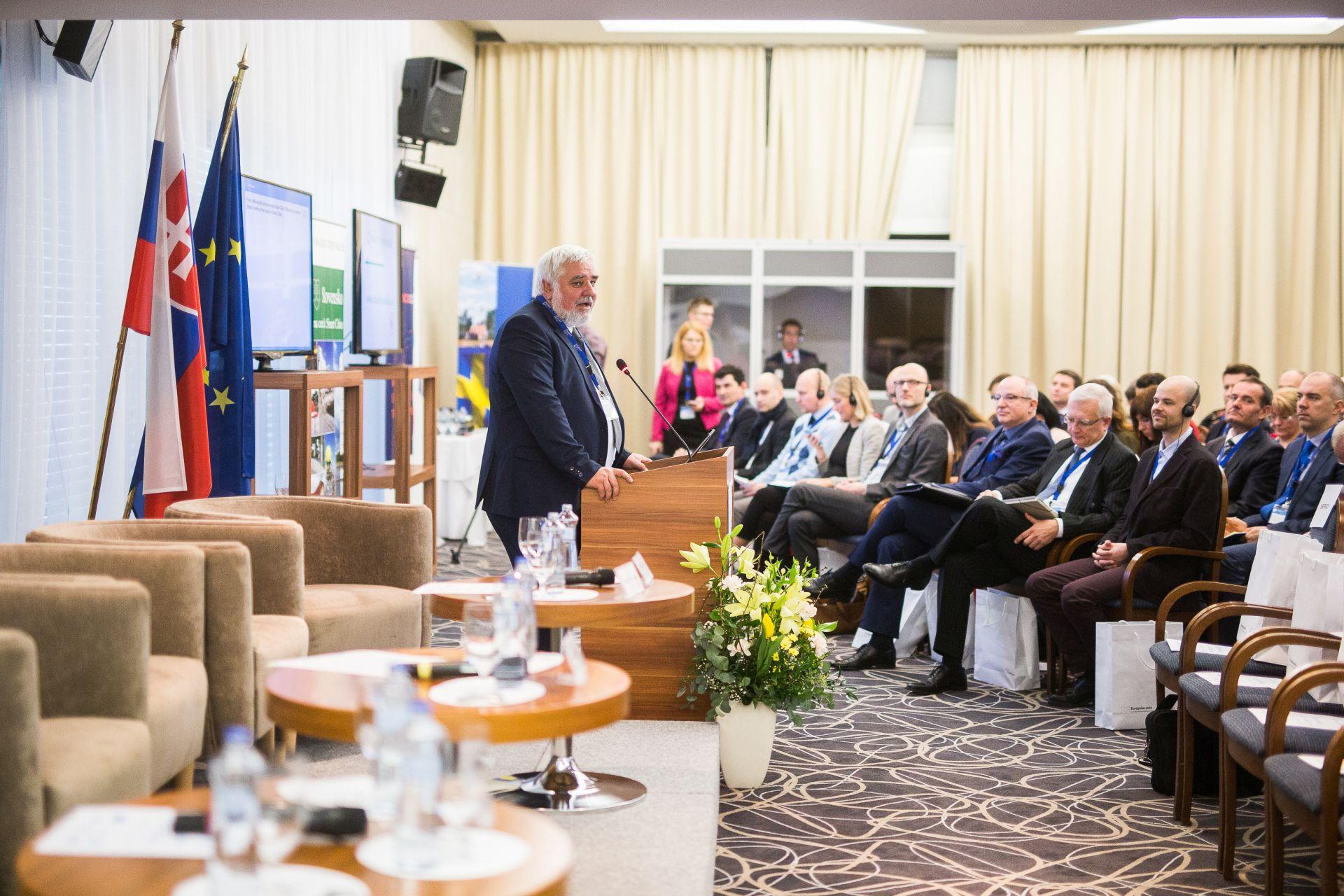 Konferencia Smart Cities, Bratislava, 1. 2. 2018