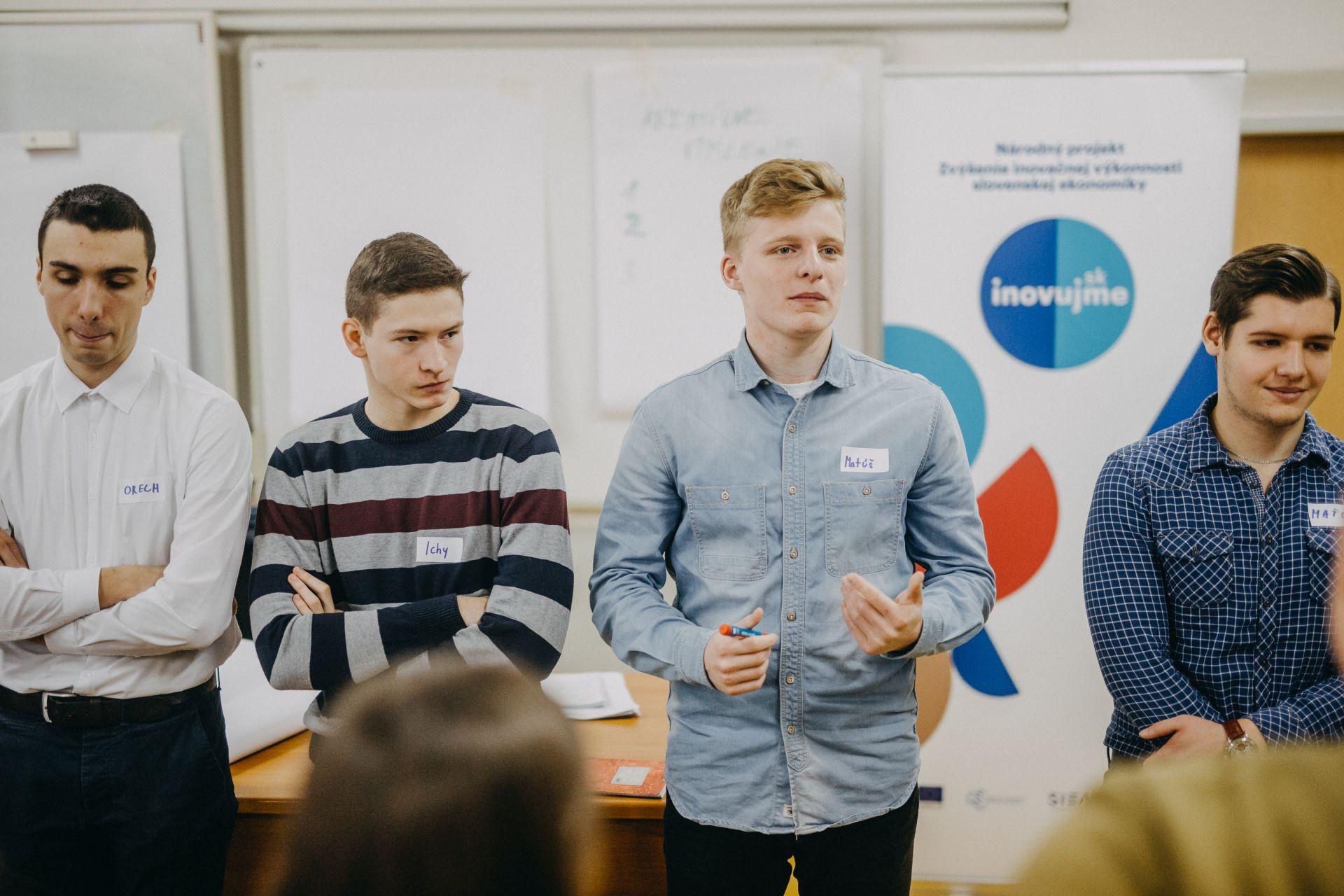 Inovačný workshop, Gymnázium, Malacky, 25. 1. 2018